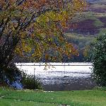 loch awe from the front of the hotel
