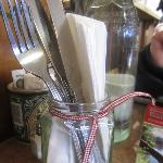 The Summerhouse - novel cutlery holder