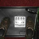 Tray for muddy boots