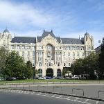 The Hotel Gresham Palace, Budapest