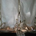 pretty lace curtains in gingerwood