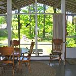 The Pine Suite sitting area, Cottage Guest Cape Cod