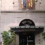 entrata hotel catalonia roma