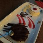 Barak's chocolate and cherry cake and krempita... mmmmmm :)