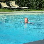 Still swimmable in mid-October!