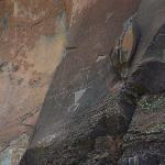 Olowalu Petroglyphs High on the Rock Wall