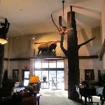 Lobby and sitting area decor