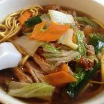 Roast Duck noodles (but I ordered rice vermicelli in chinese)