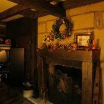 Log House Living area