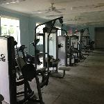 one section of weight room