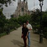 at Sagrada Familia