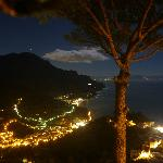 Full moon on Amalfi Coast