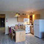 Ambassador Suite newly renovated kitchen