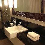 bathroom- junior suite.