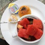 breakfast- nice selection
