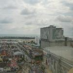View towards Hatten Hotel (tall building) and Dataran Pahlawan Megamall