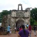 A Famosa, the symbol of Malacca - only 5 minutes walk