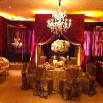 wedding banquet area