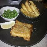 Cod n Chips presented well and delicious best in Romania.