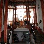 Acceso principal del hotel Real Palmira