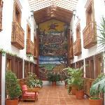 Vista de una sección de habitaciones hotel Real Palmira