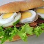 Ham Egg Sandwich