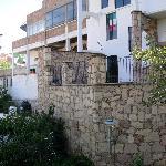 Front exterior of Casa Zuniga