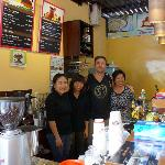 The owner and staff, most lovely friendly people