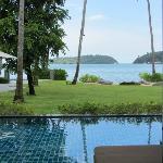 Andaman Loft Pool Suite View