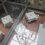 vista desde suelo de recepción