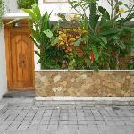 Front of villa 2