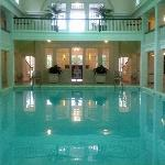 Natural Spring Indoor Heated Pool