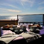 La colazione con vista mare