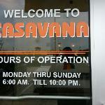 casavana restaurant