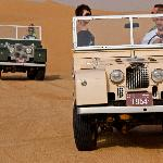 1950's Landrovers sourced from museums and private collections