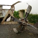 An old propellor