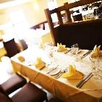 The New Ship Restaurant at Dooley's Hotel ready for service
