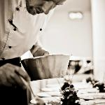 The Chef prepares his dish full of intent