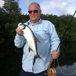 Barry with tarpon mid morning