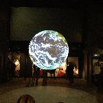 Earth projection hologram