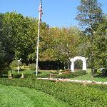 West Baden garden
