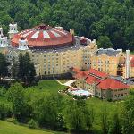Professional aerial photo of West Baden