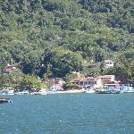 Pousada Manaca from the sea