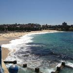 Coogee beach from 5 min walk from hotel