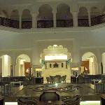 Hall intérieur de l'hotel