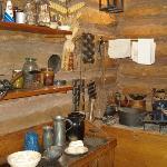 Kitchen wares used in the day