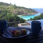 Hilltop villa view