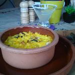 Pastel de Choclo and Margarita
