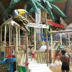 Lots more than this, but this is a really fun kids activity zone!