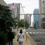 walk to Rosslyn Metro